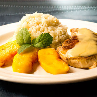 Chicken with Peach