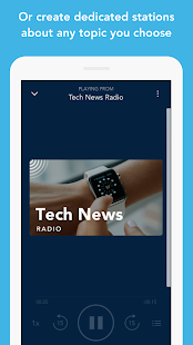 Otto Radio for news & podcasts- screenshot thumbnail