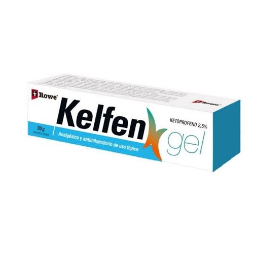 Ketoprofeno Kelfen Gel 2.5% Tubo x 30g