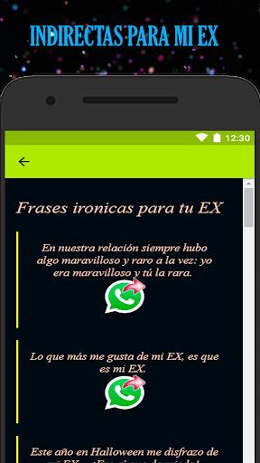 Indirectas Para Tu Ex Aplicaciones En Google Play