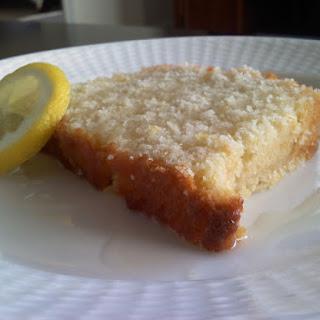 Lemon Buttermilk Poundcake