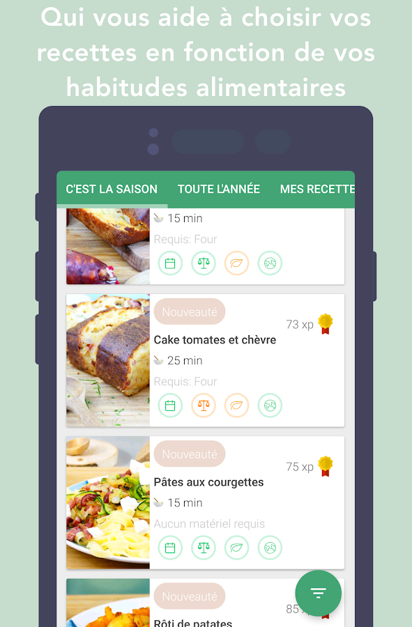 CookMinute - Assistant Culinaire Intelligent- screenshot
