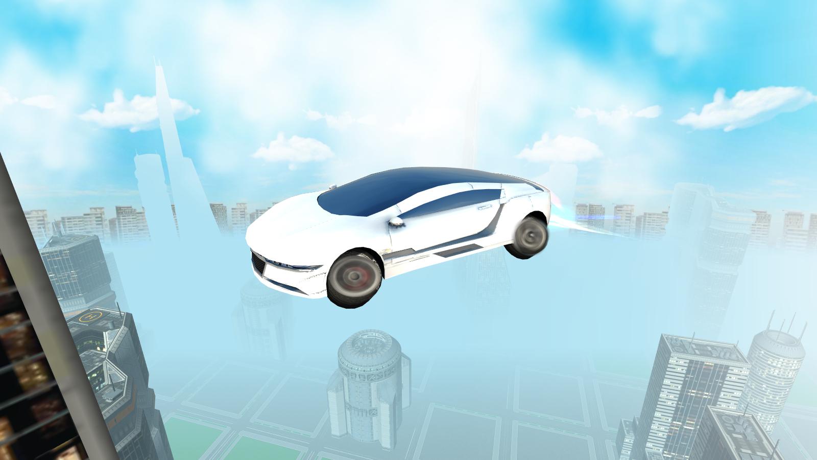 Flying Car Games Apps