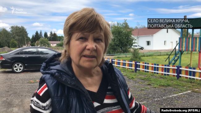 Жительница села Большая Круча Вера Вшивцева