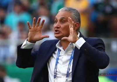 L'élimination contre les Diables n'aura pas coûté son poste au sélectionneur brésilien