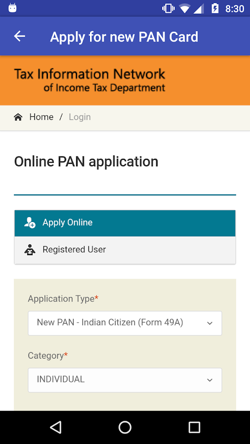 How To Apply For New Pan Card If Old Is Lost Howsto Co