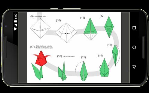 Jak vytvořit Origami - náhled