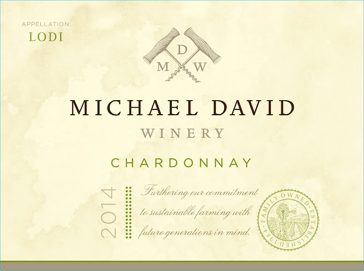 Logo for Michael David Winery Chardonnay