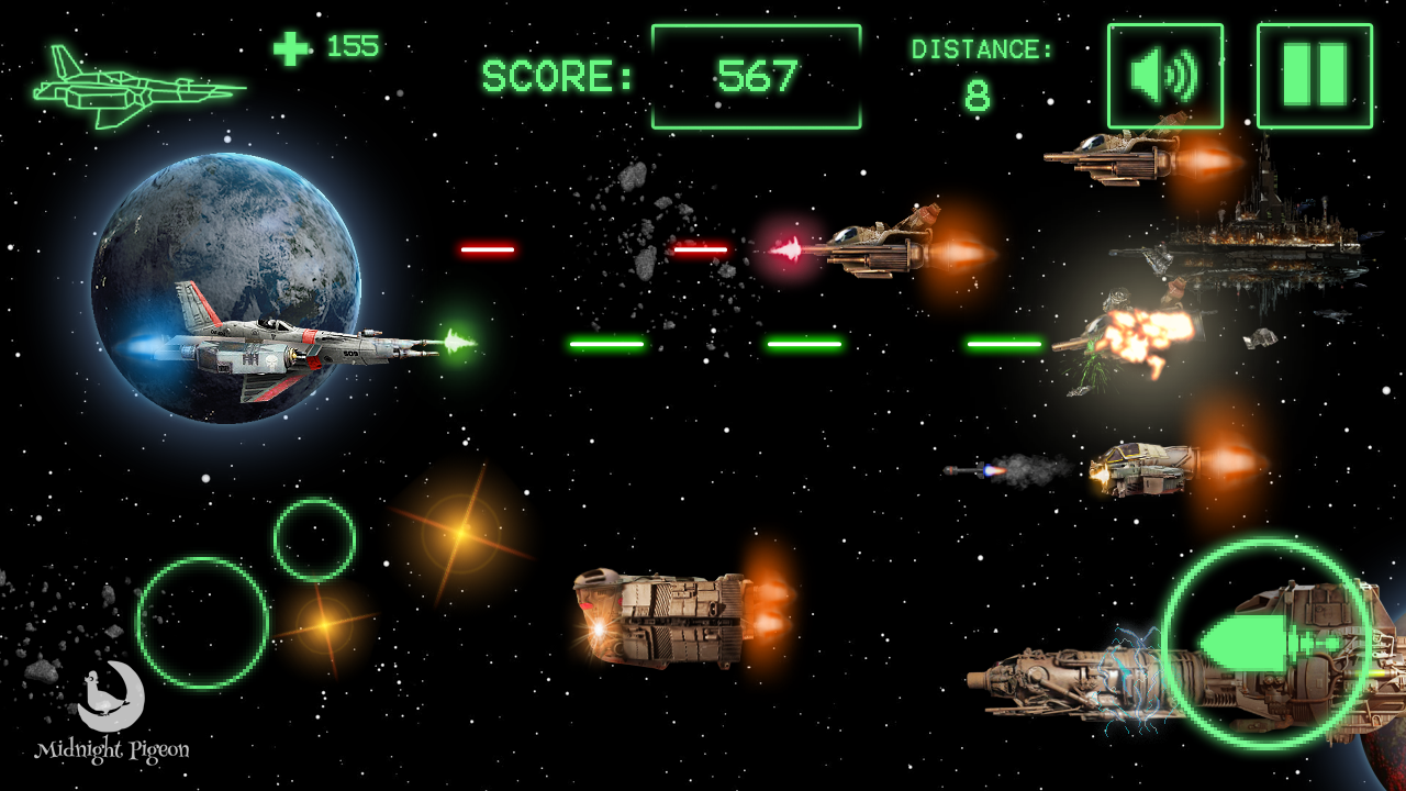 Star Viper: space invasion- screenshot