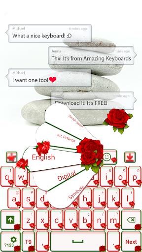 バラはキーボードをGO