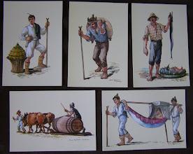 Photo: Figuras típicas da Madeira