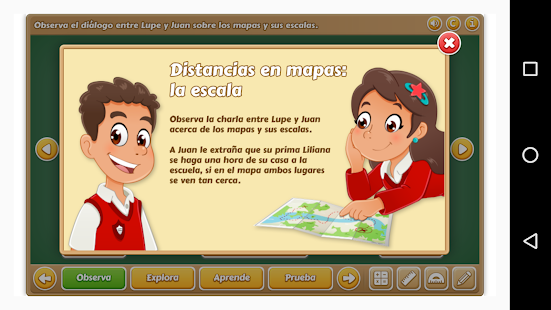 Distancia en Mapas 6° Primaria- screenshot thumbnail