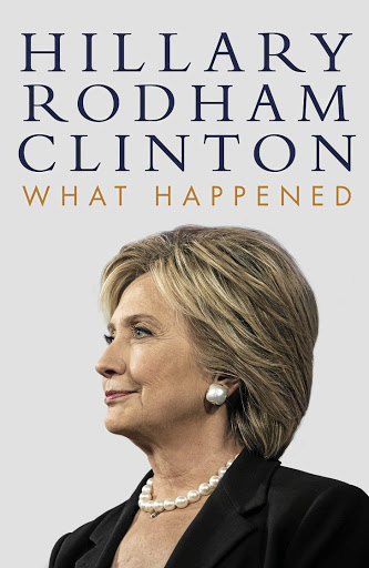 Image result for What Happened by Hillary Clinton