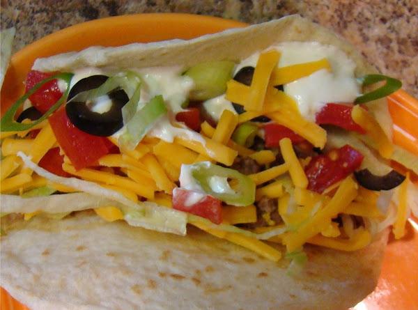 Flatbread Tacos Recipe
