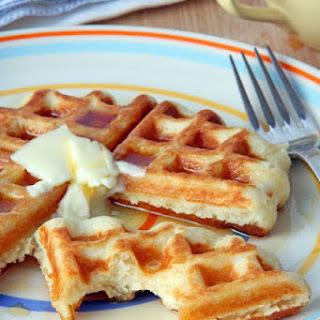 Nico's Favorite Yeast Waffles