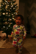 Photo: And all that fun wore my little girl out. We ended the decorating with a lot of tears