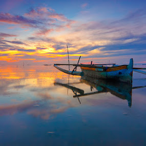 Two Boat by Imansyah Putra - Transportation Boats