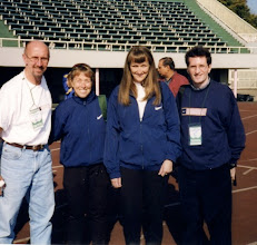 Photo: International Ekiden, Chiba, Japan 1999 USA Team Staff