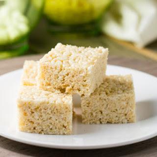 Brown Butter Rice Crispy Treats