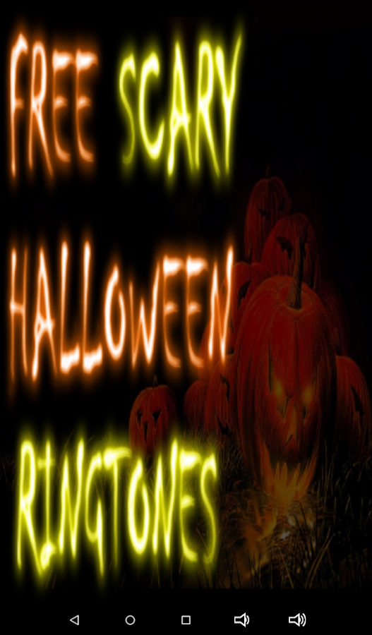 Free Scary Halloween Ringtones - Android Apps on Google Play
