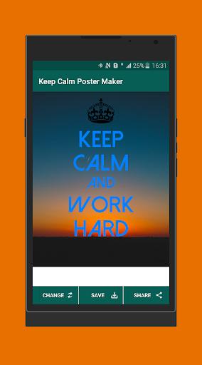 Download Keep Calm Poster And Wallpaper Maker 2019 Apk Full