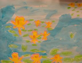 Photo: Monet Lillies By Grade 2