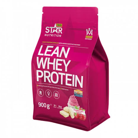 Star Nutrition Lean Whey Protein 900g - Strawberry White Chocolate