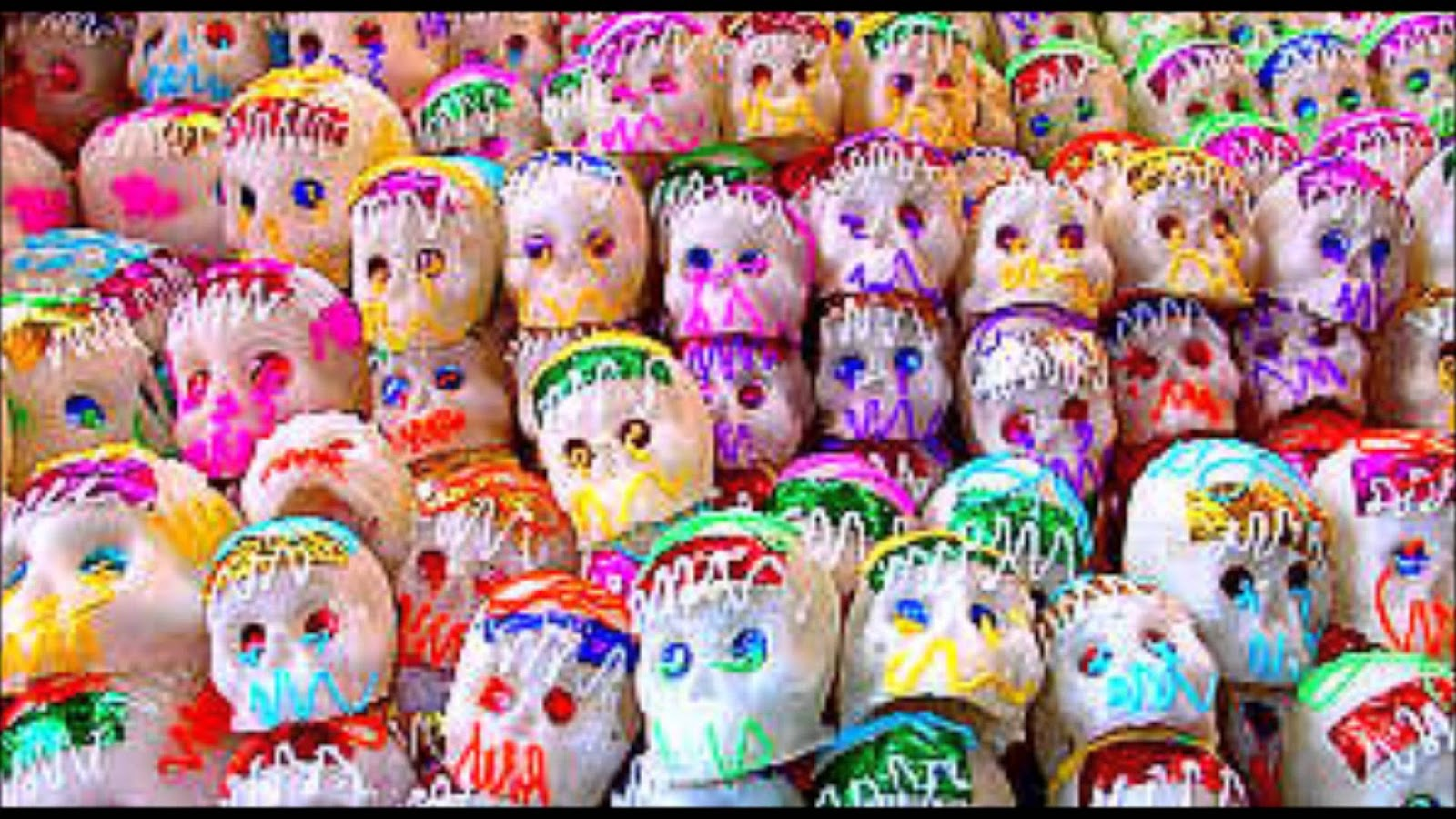 Image result for dia de los muertos calaveras de azucar