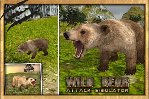야생 곰 공격 시뮬레이터 3D