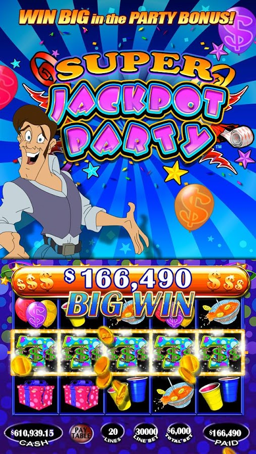 Jackpot Party Casino Slots- screenshot