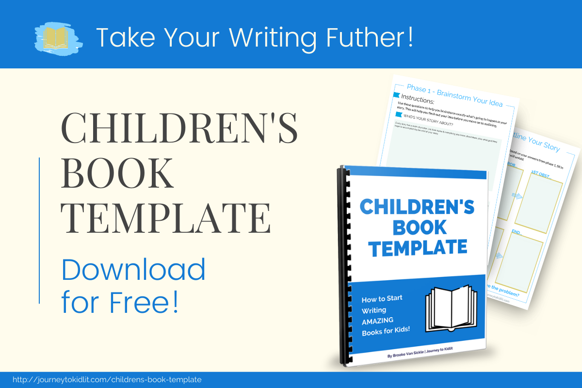 Download the free children's book template