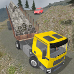 Off Road Cargo Trailer Truck Icon