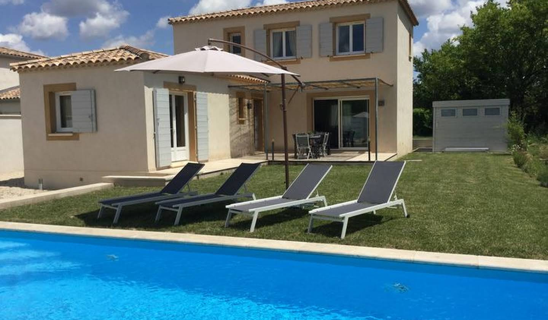 Villa avec piscine et jardin Mouriès