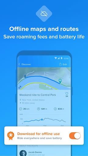 Bikemap - Your Cycling Map & GPS Navigation 11.13.0 Screenshots 4