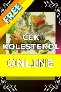 Cek Kolesterol Online - náhled