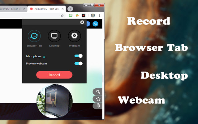 free screen video recorder chrome extension