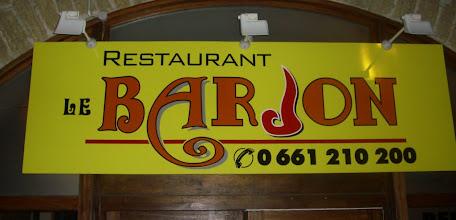 Photo: Merci au restaurant Le Barjon pour nous avoir permis de mettre en place ce tournoi!