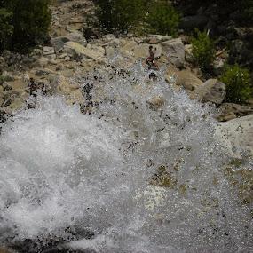 Lisa Falls by Jason Murray - Nature Up Close Water ( utah, beautiful, awesome, waterfalls, lisa falls, moving water, waterscape, waterfall, water,  )