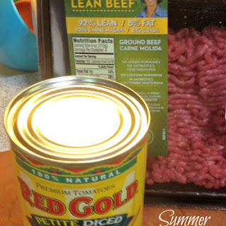 Summer Grilling with Red Gold Tomatoes and Laura's Lean Beef