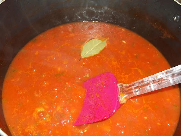 Bring to boil over medium-high heat; reduce heat to medium-low; simmer, uncovered, stirring frequently...