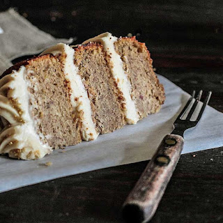 Maple Syrup Cake with Toasted Almonds