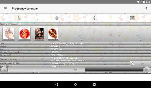 Pregnancy Calendar 2.5.1 screenshots 14