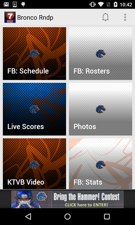 Boise State Bronco Roundup- screenshot