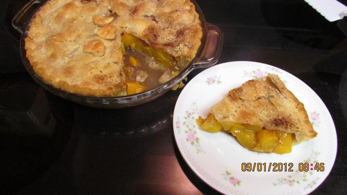 Quick Easy Peach Pie Just A Pinch Recipes