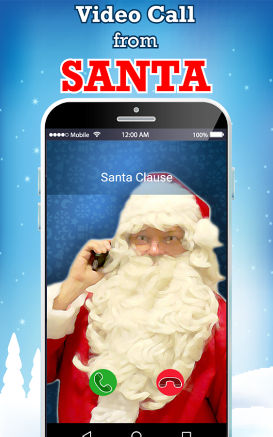 live santa claus video call android apps on google play