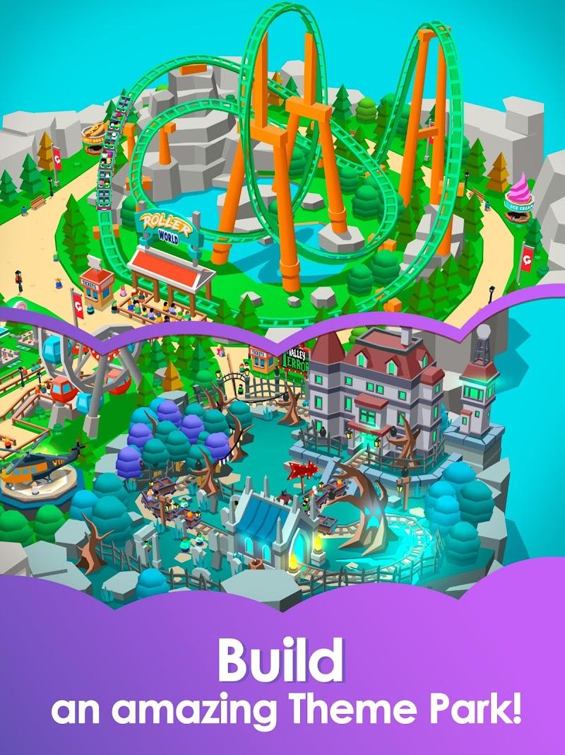 Idle Theme Park Tycoon - Recreation Game Screenshot 9