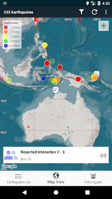 EQInfo - Global Earthquakesのおすすめ画像4