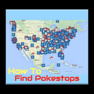 How To Find Pokestop Map screenshot