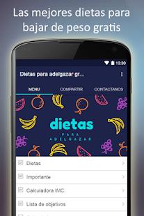 Dietas para adelgazar gratis en español - náhled