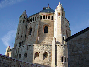 Photo: The exterior of the Dormition Abbey